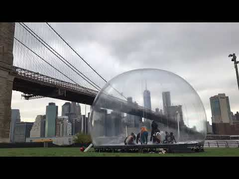 Performa Environment Bubble, Brooklyn Bridge Park