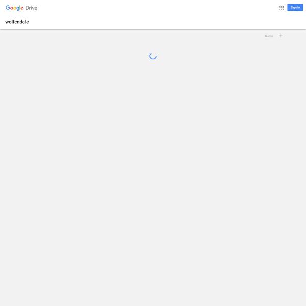 wolfendale - Google Drive