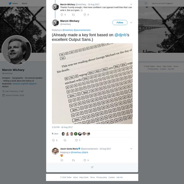Marcin Wichary on Twitter