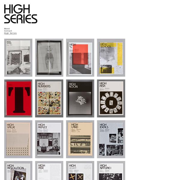Johannes Schwartz - High Series
