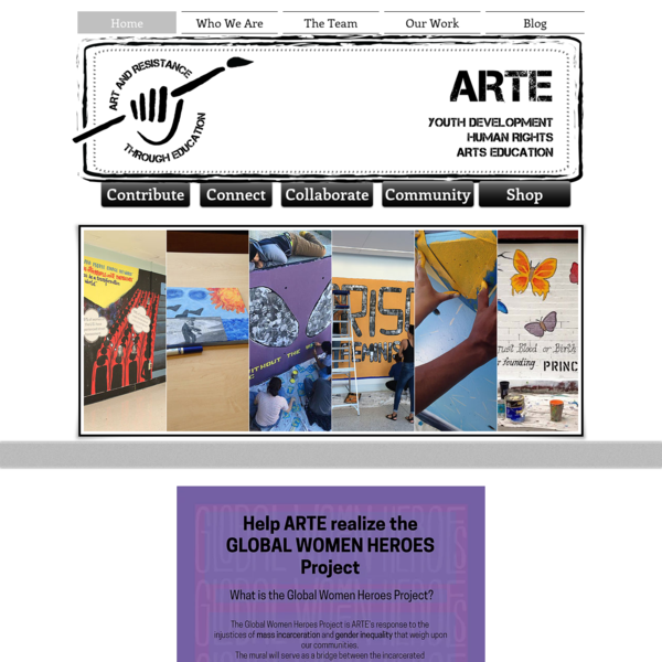 Art and Resistance Through Education (ARTE)
