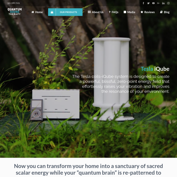 From a tiny apartment in a crowded city or an isolated island, the Tesla iQube delivers results and replaces your need for shiny objects and new courses that promise to heal you.