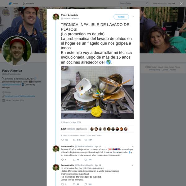 Paco Almeida on Twitter