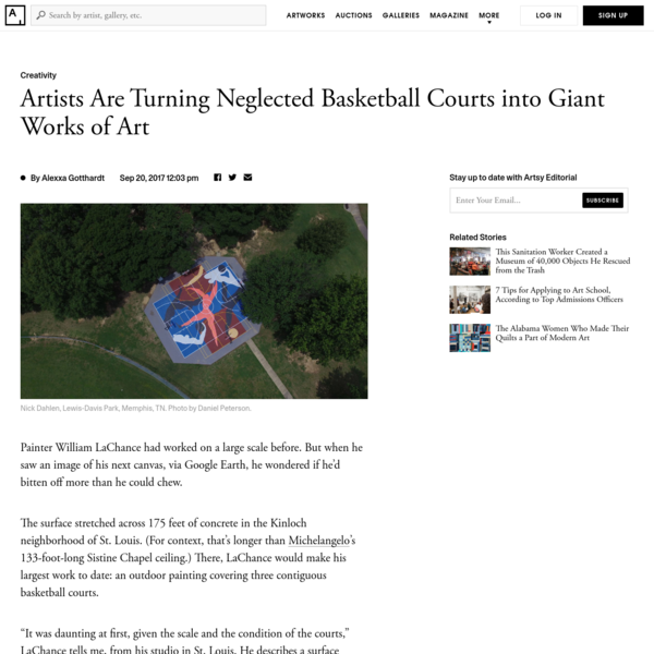 Project Backboard Is Turning Neglected Basketball Courts into Giant Works of Art