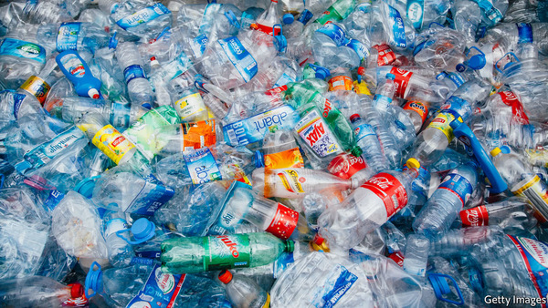 A MILLION plastic bottles are sold every minute. Many are not recycled and of those that are, only a small fraction become bottles again. That is, in part, because recycling polyethylene terephthalate (PET), the polymer used to make such bottles, back into material robust enough to hold, say, a fizzy drink, is hard.