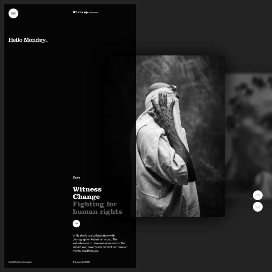 Hello Monday is a Digital Creative Agency in New York, Copenhagen and Aarhus that creates digital design, websites, apps, and brand identities.