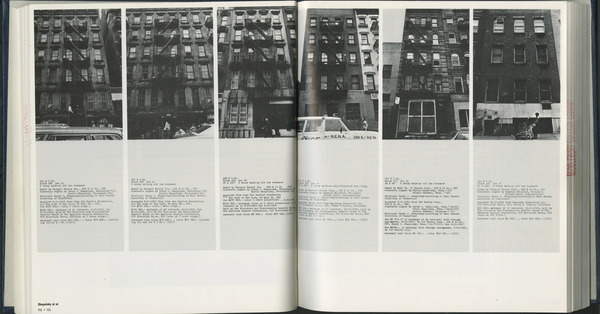 Hans Haacke. Pulled from public records about slum lords in NYC.