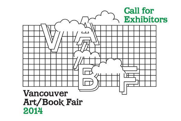 Vancouver Art/Book Fair 2014 Call for Exhibitors