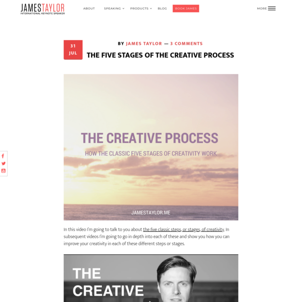 five steps of creative process