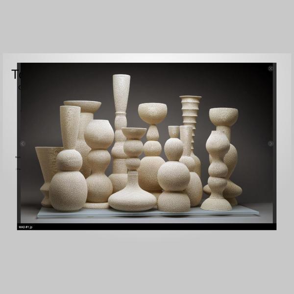 The comprehensive history of the ceramic art of Tony Marsh.