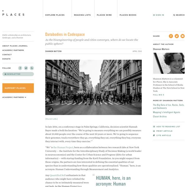 Databodies in Codespace