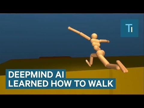 Google's artificial intelligence company, DeepMind, has developed an AI that has managed to learn how to walk, run, jump, and climb without any prior guidance. The result is as impressive as it is goofy. Read more: http://www.businessinsider.com/sai FACEBOOK: https://www.facebook.com/techinsider TWITTER: https://twitter.com/techinsider INSTAGRAM: https://www.instagram.com/businessinsider/ TUMBLR: http://businessinsider.tumblr.com/