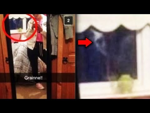 18 Ghost Sightings Caught on Snapchat