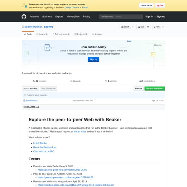 beakerbrowser/explore