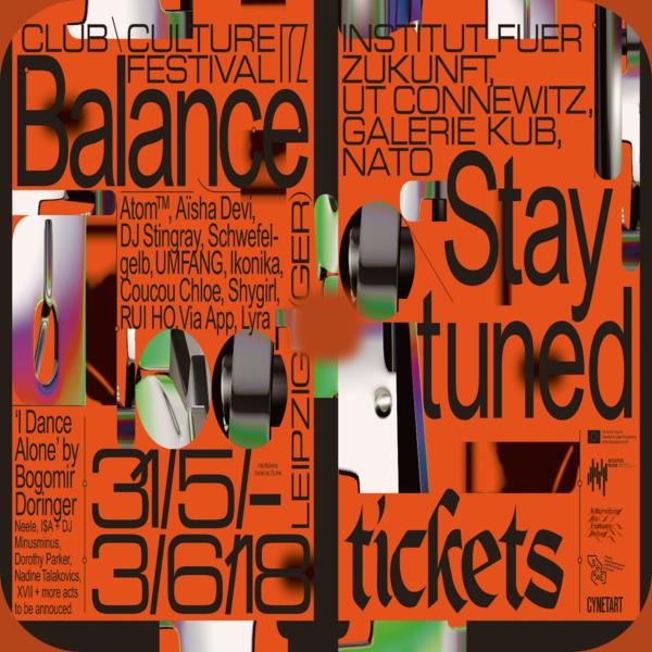 Balance - CLUB \ CULTURE FESTIVAL - 2018