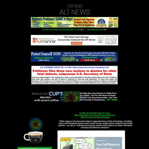Rense.com - Worlds #1 Alternative News Service Your First Source For Reality & Honest Journalism Disclaimer And Fair Use