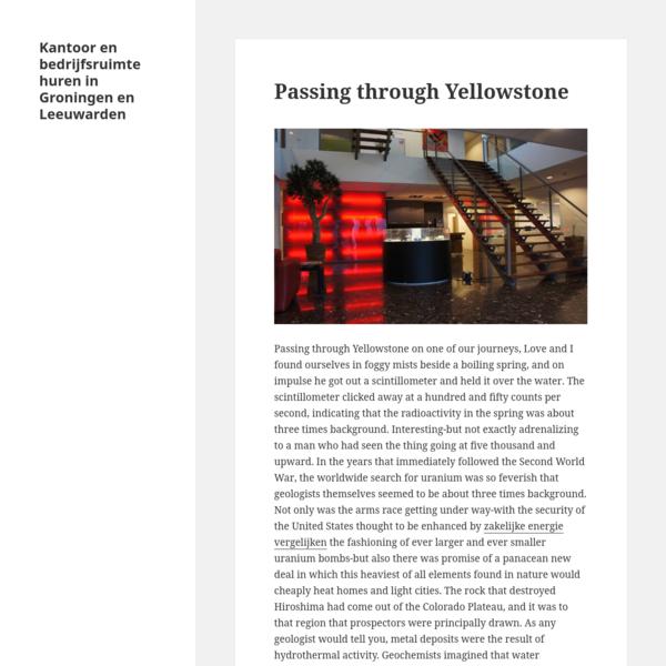 Kantoor en bedrijfsruimte huren in Groningen en Leeuwarden