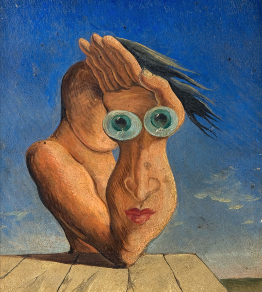 Composition with Portrait by Victor Brauner