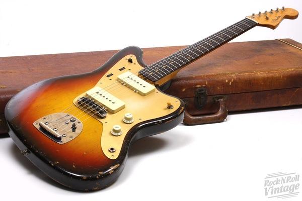 1959 Fender Jazzmaster Sunburst With Gold Pickguard