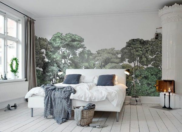 wallpaper-behind-bed-bedroom-eclectic-with-artwall-cotton-quilts-and-bedspreads.jpg