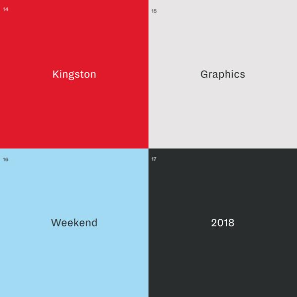 Kingston Graphics Weekend