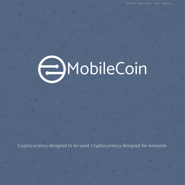 MobileCoin is designed for you. Combining privacy, security, and distributed trust with a great user experience.