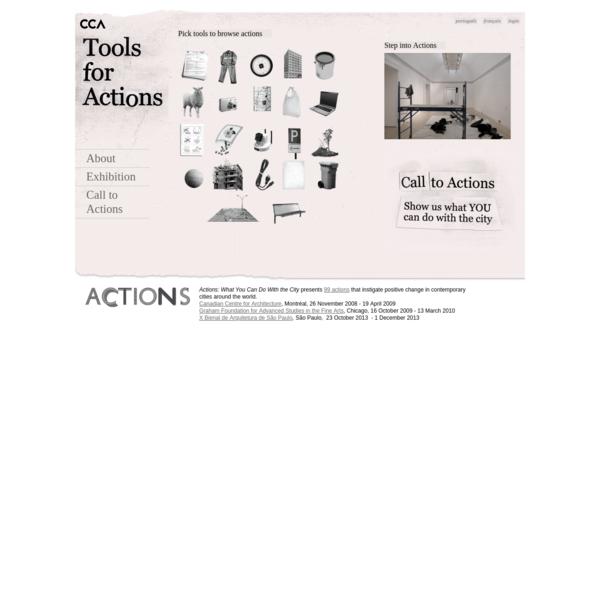 CCA Actions Exhibition