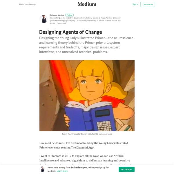 Designing Agents of Change - Bethanie Maples - Medium