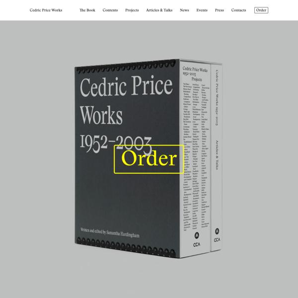 Cedric Price Works