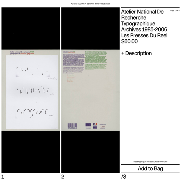 Through 650 images drawn from the French National Institute for typographic research unpublished archives, this catalogue tells the untold story of a period of profound technological change, exploring the little-known world of typography design through a diverse selection of projects drawing on b...