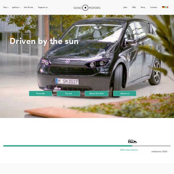 Der Sion ist das erste serienmäßige Elektroauto, das seine Batterie durch die Sonne lädt. So musst du dir weniger Sorgen um die Reichweite machen.