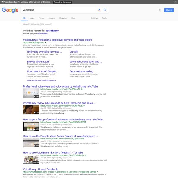 voicerabbit - Google Search