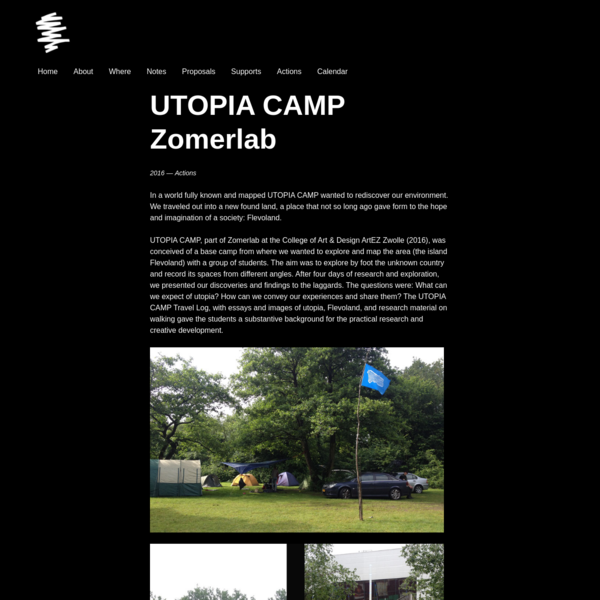 UTOPIA CAMP Zomerlab