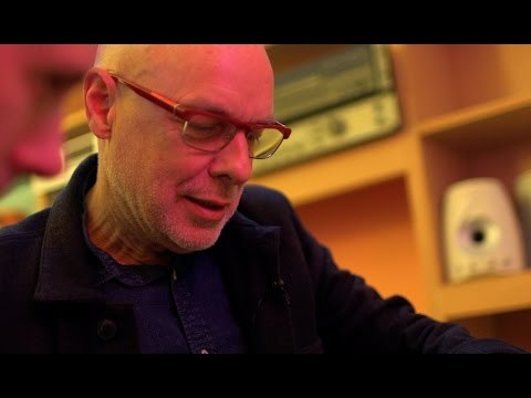 """BBC Click's Spencer Kelly spends an afternoon talking art, science, music and potatoes with music legend and godfather of ambient music Brian Eno. His new app, Reflection, is a """"generative"""" piece of music that changes every time you listen. In this extended chat we look in-depth at the rules and maths behind Reflection, where notes are altered depending on certain probabilities."""