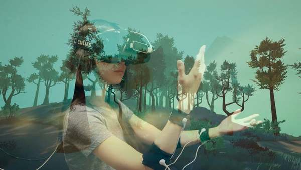 TreeSense is a sensory VR system that transforms a person into a tree, from a seedling to its full-size form, to its final destiny. The person experiences what it feels like to be a tree by seeing and feeling her arms turning into branches and her body into a trunk.