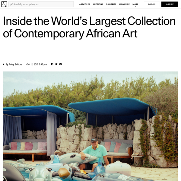 The collection is mostly housed in Geneva, in a space known as The Contemporary African Art Collection. It is generally regarded as the apex and index of artistic production from the continent, and pieces are regularly loaned out to museums and institutions.