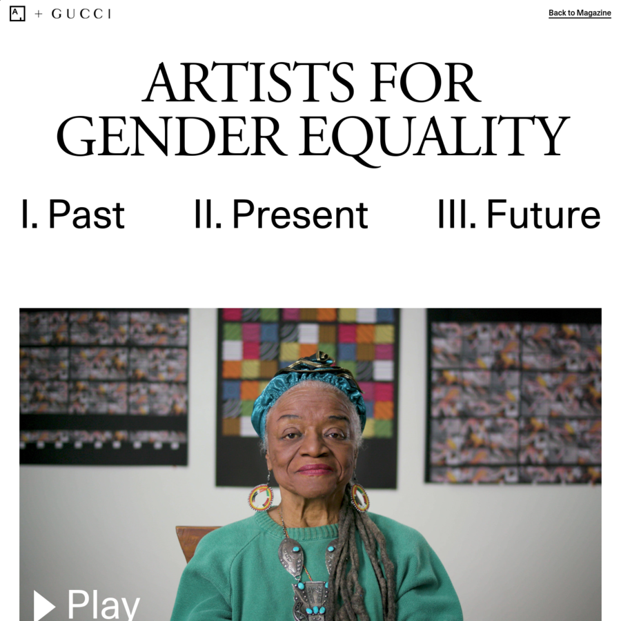 "In the first installment of Artsy's ""Artists for Gender Equality"" series, Barbara Zucker, Faith Ringgold, Joan Semmel, and Lynn Hershman Leeson reflect on the barriers that women artists faced in the 1970s, and the women's support networks that helped to advance their cause."