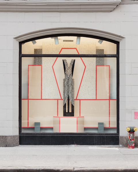 Diane Simpson, Window Dressing, 2014