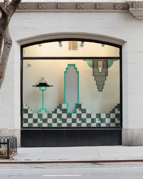 Diane Simpson, Window Dressing, 2014