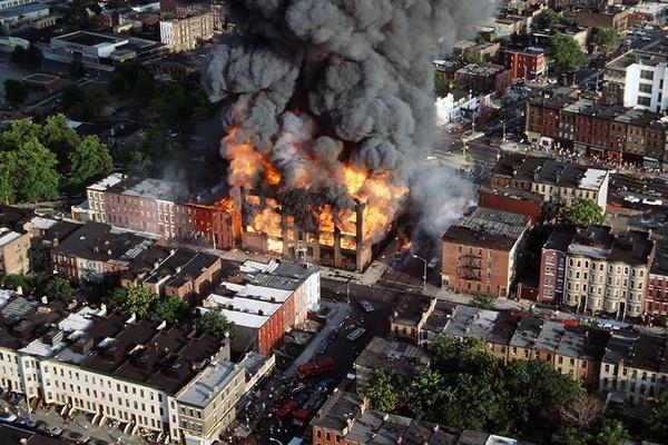 Bronx burning