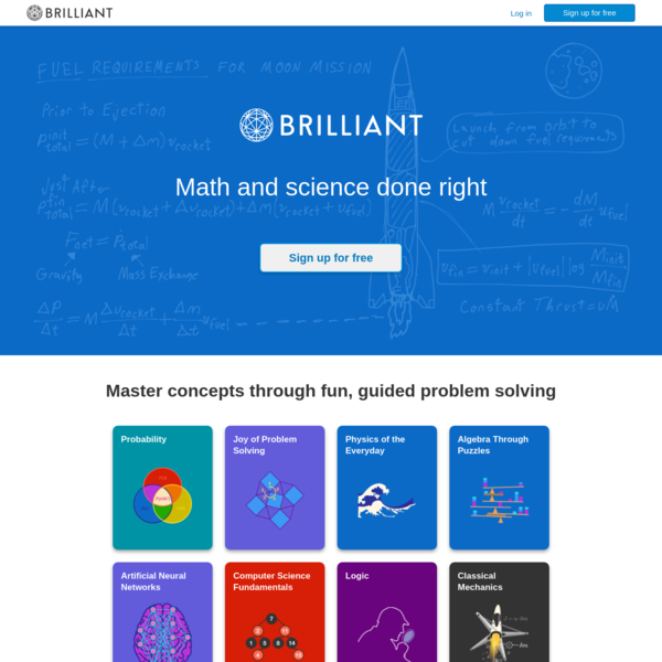 Brilliant | Math and science done right