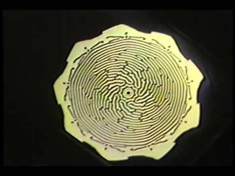 "A film by Jim Crutchfield, Entropy Productions, Santa Cruz (1984). Original U-matic video transferred to digital video. 16 minutes. See http://csc.ucdavis.edu/~chaos/chaos/films.htm Citation: J. P. Crutchfield, ""Space-Time Dynamics in Video Feedback"". Physica 10D (1984) 229-245. http://csc.ucdavis.edu/~chaos/chaos/pubs/stdvf-title.html."