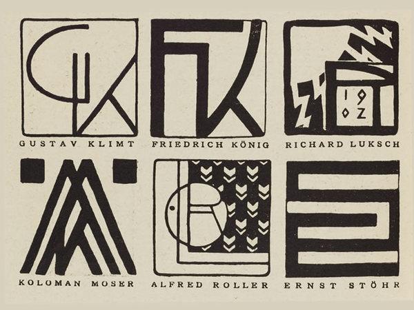 Vienna Secession Monograms