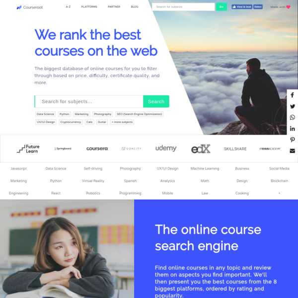 Review the best online courses on the internet in one place | Courseroot