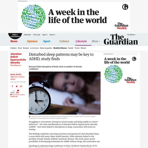 Disturbed Sleep Patterns May Be Key To >> Are Na Ruth O Sullivan