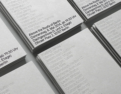 """""""Above the Roofs of Berlin"""" Exhibition Catalogue (2014)"""