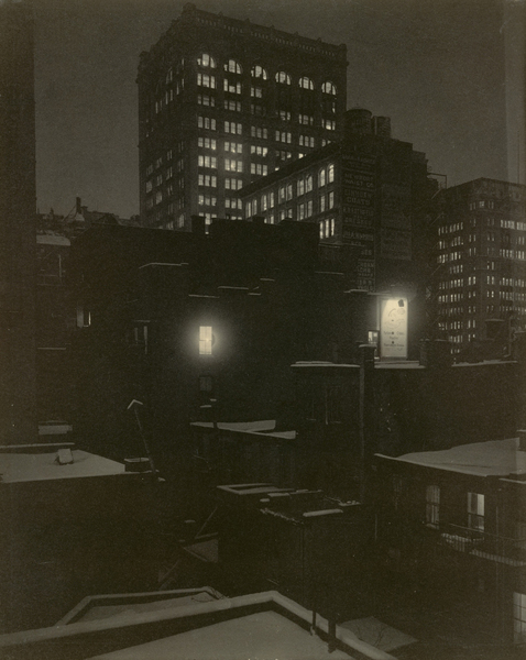 From the Back Window—291, 1915. Photograph by Alfred Stieglitz