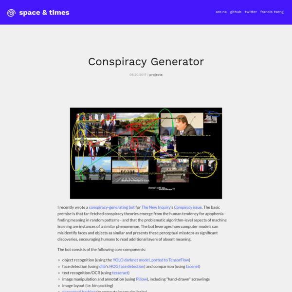 Conspiracy Generator
