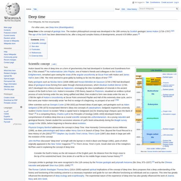 Deep time - Wikipedia