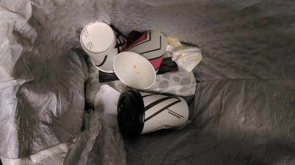 5.1 Trash bin full of cups